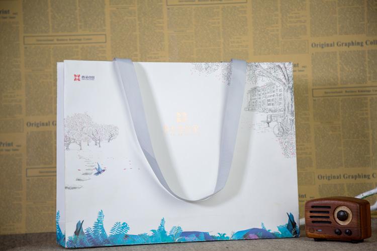 房地产手提袋 长沙手提袋设计印刷