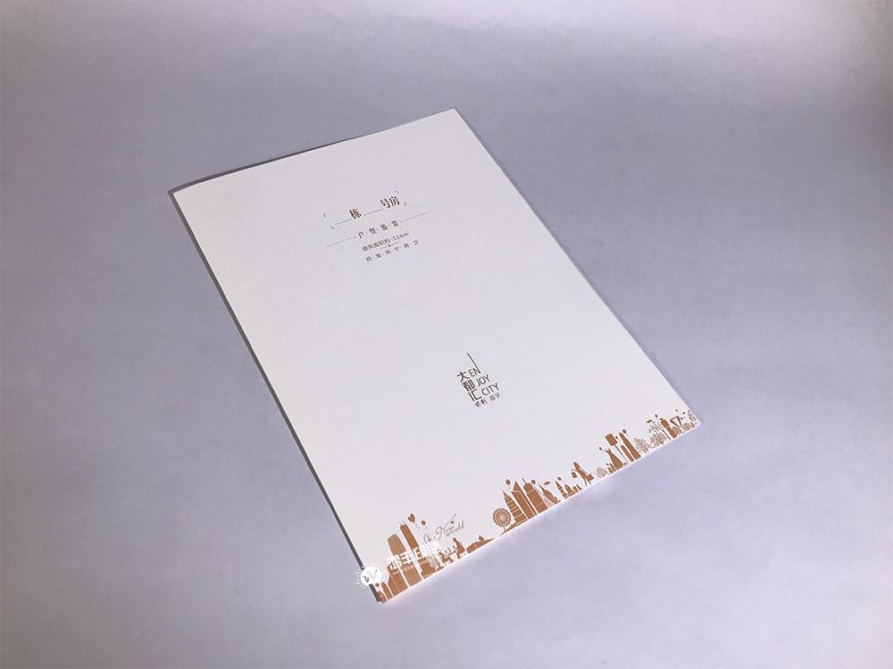 保利大都汇户型折页 长沙折页印刷