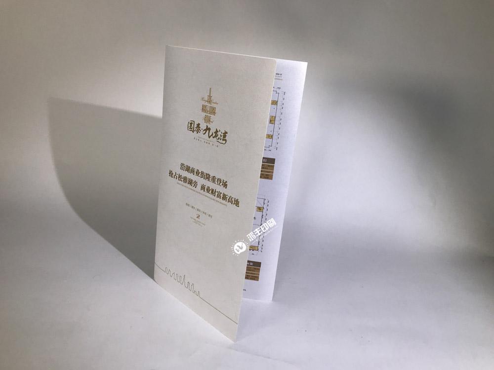 国泰九龙湾折页 长沙折页制作