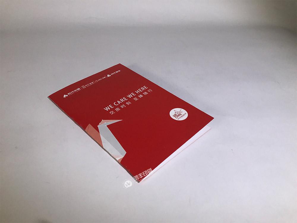 时代地产折页(红色款)